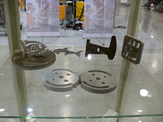 Образцы гидрорезки